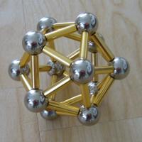 Ikosaeder mit Magneten